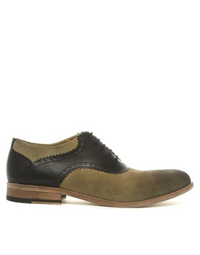 Image 4 ofASOS Saddle Shoes With Leather Sole