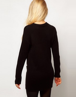 Image 2 ofASOS Star Jumper Dress