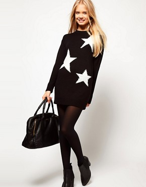 Image 4 ofASOS Star Jumper Dress