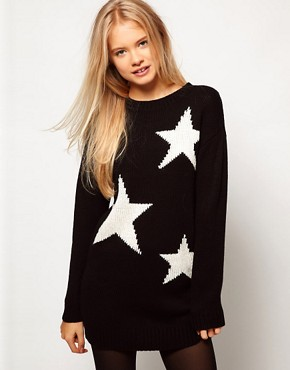 Image 1 ofASOS Star Jumper Dress