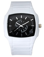 River Island White Watch
