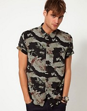 Neuw Shirt Short Sleeve Desert Eagle Print