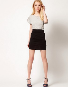 Image 1 ofA Wear Tube Pencil Skirt
