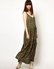 One Teaspoon Komodo Minkie Maxi Dress