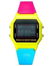 Paul&#39;s Boutique Multi Colour Skull Watch