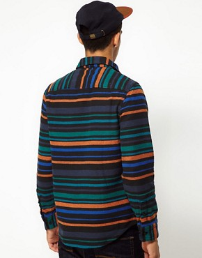 Image 2 ofThe Hundreds Shirt Pretend Stripe