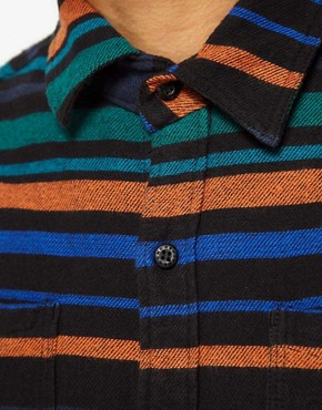 Image 3 ofThe Hundreds Shirt Pretend Stripe