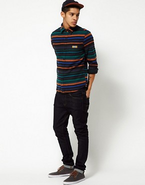 Image 4 ofThe Hundreds Shirt Pretend Stripe