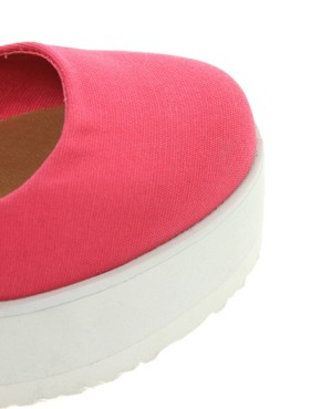 Image 3 ofASOS VOLLEY Flatform Ballet Shoes