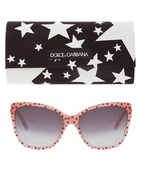 Image 2 ofDolce &amp; Gabbana Stars Square Sunglasses