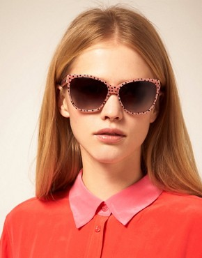Image 3 ofDolce &amp; Gabbana Stars Square Sunglasses