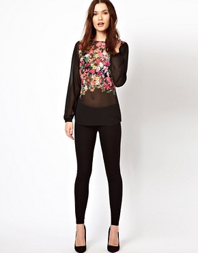 Image 4 ofWarehouse Shell Top In Floral Print