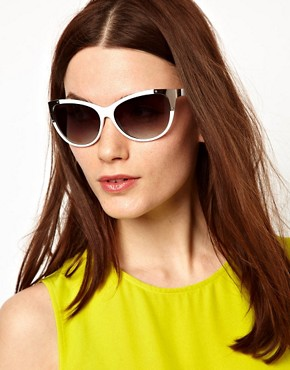 Image 3 ofMango Metal Corner Sunglasses
