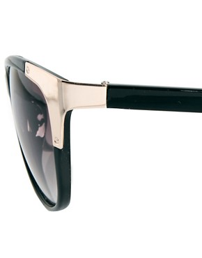 Image 4 ofMango Metal Corner Sunglasses
