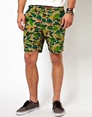 Dickies Chino Shorts Ripstop Camo