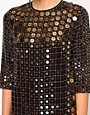 Image 3 ofFrench Connection Solar Heat Sequin Dress