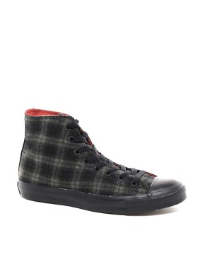 Image 1 ofConverse Chuck Taylor Wool Hi Top Plimsolls