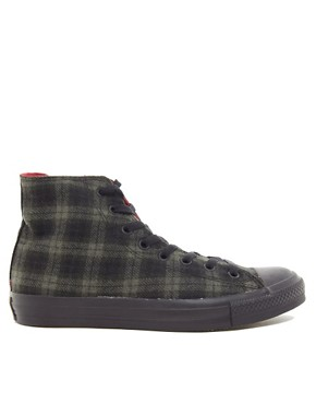 Image 4 ofConverse Chuck Taylor Wool Hi Top Plimsolls