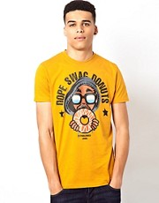 PA:NUU T-Shirt with Donuts Print
