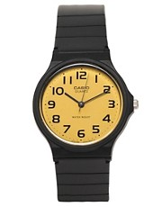 Casio MQ-24CC-9B2EF Yellow Analogue Watch