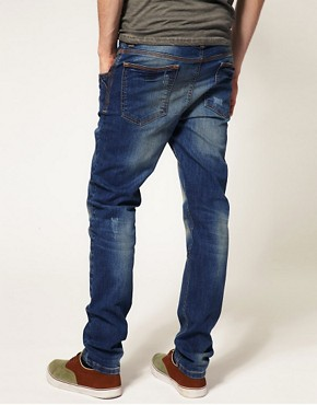 Image 2 ofASOS Dark Wash Skinny Jeans