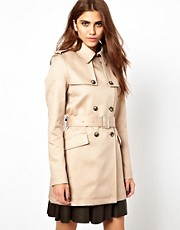Cooper &amp; Strollbrand Neat Trench Coat