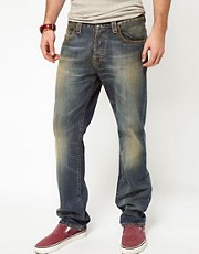 Nudie Jeans Straight Alf Regular Fit Cloudy Vintage