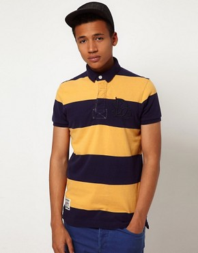 Image 1 ofSuperdry Rugby Tens Polo Shirt