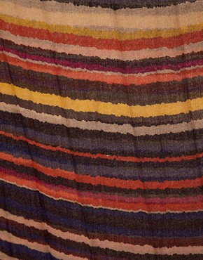 Image 2 ofWarehouse Bright Stripe Scarf