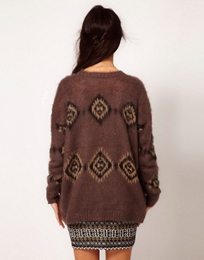 Image 2 of River Island Aztec Coatigan