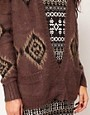 Image 3 of River Island Aztec Coatigan