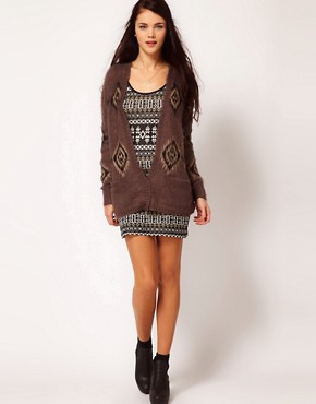 Image 4 of River Island Aztec Coatigan