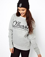Sudadera con cuello redondo de Other UK