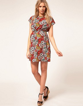 Image 4 ofASOS Maternity Skater Dress In Floral