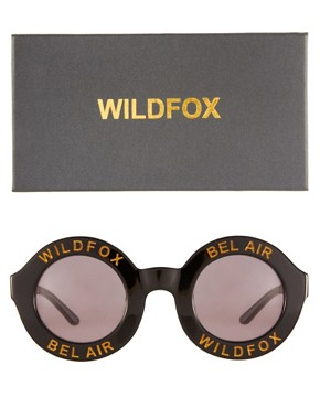 Image 2 ofWildfox Bel Air Round Sunglasses