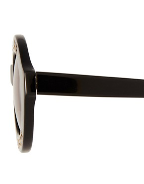 Image 4 ofWildfox Bel Air Round Sunglasses