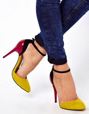 Image 3 ofASOS PRIORITY Pointed High Heels
