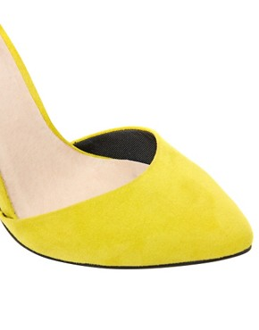 Image 4 ofASOS PRIORITY Pointed High Heels
