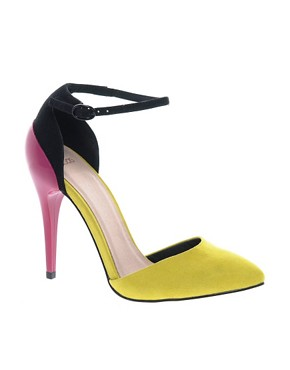 Image 1 ofASOS PRIORITY Pointed High Heels