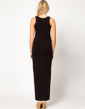Image 2 ofASOS Maternity Exclusive Maxi Dress In Stretch Fabric