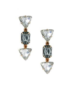 Image 1 ofASOS Arrow Head Jewel Earrings