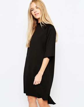 Selected Coda High Neck T-Shirt Dress