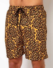 Pa:Nuu Leopard Swim Short