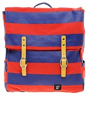 Lazy Oaf Stripe Square Backpack
