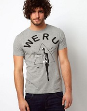 Paul Smith Jeans T-Shirt with We R U Print