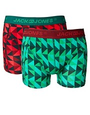 Jack &amp; Jones Nave 2 Pack Trunk