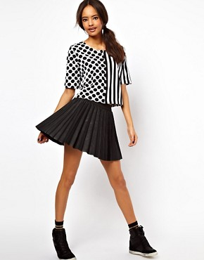 Image 4 ofASOS Top with Spots and Stripes