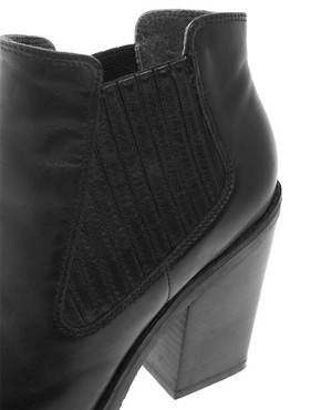 Image 3 ofBertie People Heeled Chelsea Boots