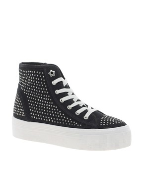 Image 1 ofKG Lennie Studded High Top Trainers