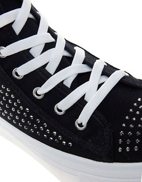Image 4 ofKG Lennie Studded High Top Trainers